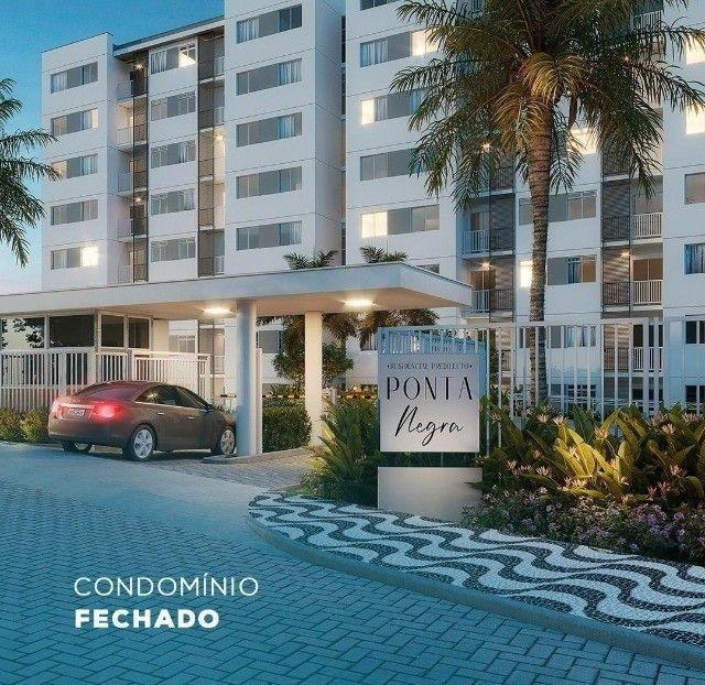 Apartamentos de 2 dormitório no Ponta Negra