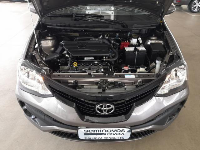 Toyota Etios 1.5 X PLUS 16V FLEX 4P AUTOMATICO - Foto 13