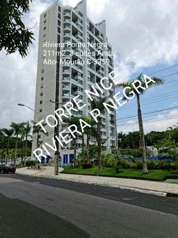 NICE 211m2, 3 Suítes, completo - Riviera Ponta Negra