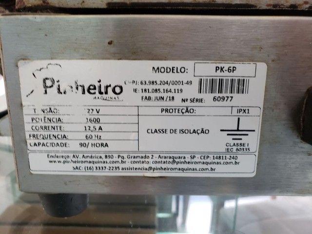 Crepeira Pinheiro 6 cavidades  - Foto 6