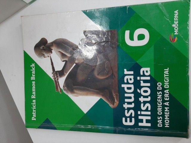 Vendo livros didáticos seminovos 5° e 6° ano  - Foto 5