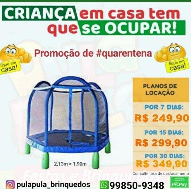 Promoção Aluguel de Pula Pula por 7, 15 ou 30 dias em sua casa, quintal ou apartamento  - Foto 5