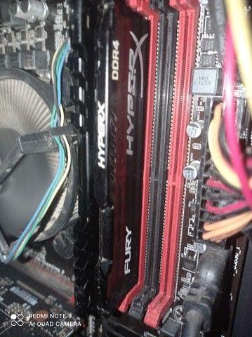 4GB Memória RAM DDR4 2400mhz HyperX