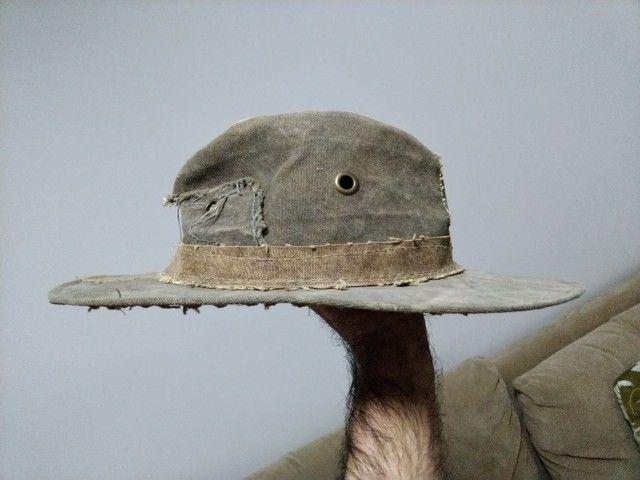 Chapéu de lona de caminhão - Foto 2