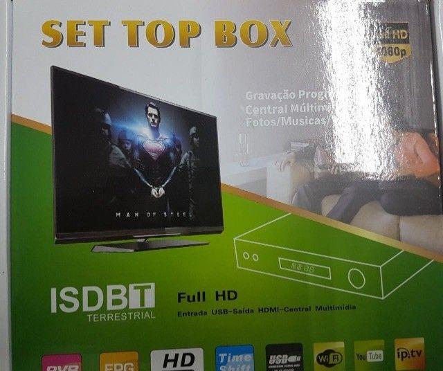 Conversor Digital para TV + Antena digital Novo