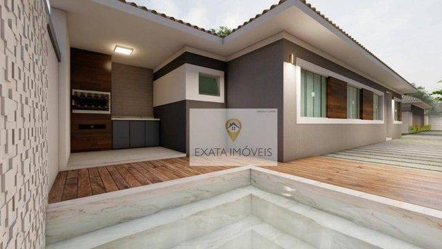 Lançamento! Casas lineares 3 quartos, com piscina/ varanda gourmet, Floresta das Gaivotas/