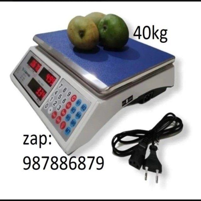 Com Garantia Balança 40kg