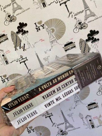 Box (3 livros) - as incríveis viagens de Júlio Verne - Foto 4