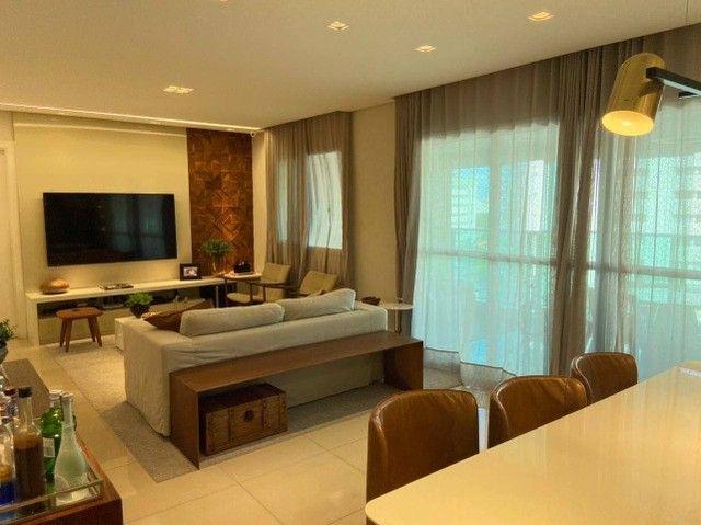 AB132 - Apartamento com 03 suítes/ vista lagoa/ fino acabamento - Foto 5