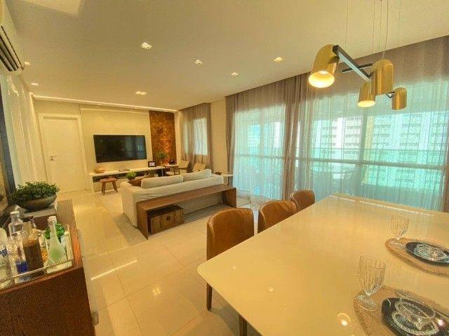 AB132 - Apartamento com 03 suítes/ vista lagoa/ fino acabamento - Foto 3
