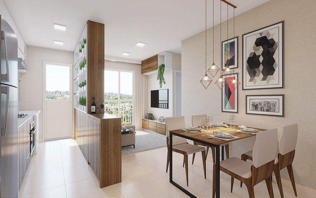 DF/ Apto com 2 qts + varanda gourmet + piso no porcelanato  - Foto 2