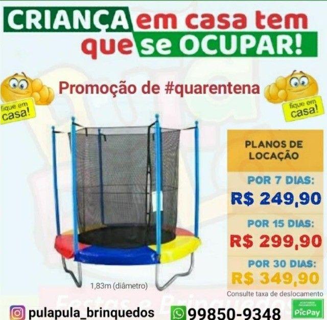 Mega Promoção: Aluguel de pula pula por 7, 15 ou 30 dias em sua casa ou apartamento