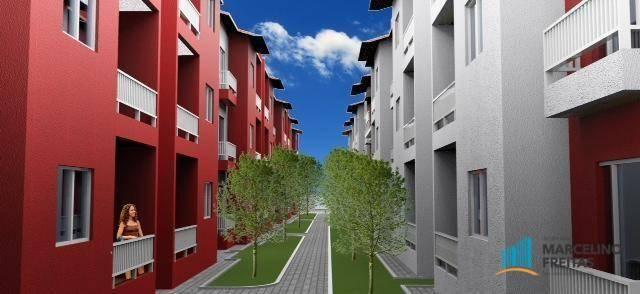 Apartamento residencial à venda, Curicaca, Caucaia.