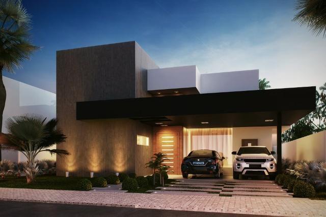 Casa 4 Suítes, 220 m² c/ lazer no mirante do Lago