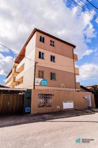 Apartamento residencial para locação, Parque Tabapua, Caucaia - AP2606.
