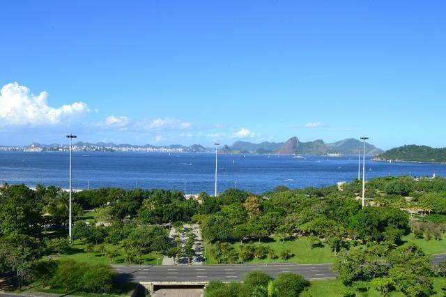 Vista completa da Baia de Guanabara
