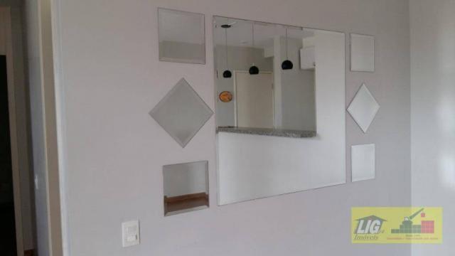 excelente apartamento com 2 dormitórios sendo uma suíte - Foto 9