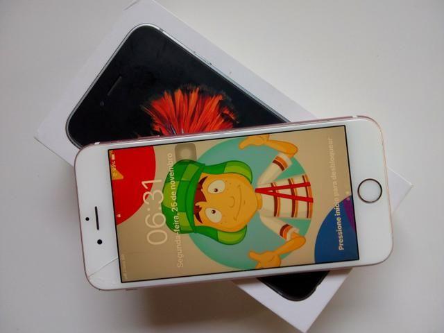 IPhone 6s Rose impecável sem defeito - Foto 2