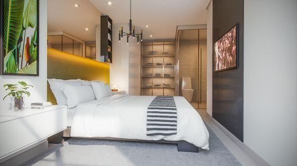 Apartamento  com 2 quartos no ELLO Vaca Brava - Bairro Setor Bueno em Goiânia - Foto 6