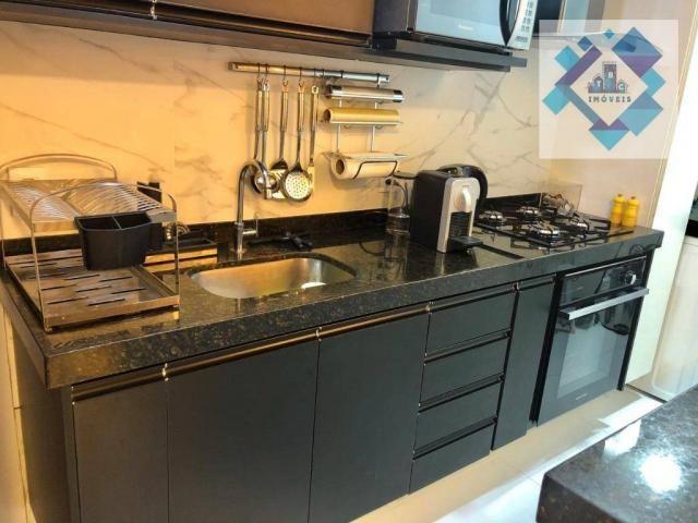 Apartamento com 3 dormitórios à venda, 127 m² por R$ 429.000 - Engenheiro Luciano Cavalcan - Foto 4
