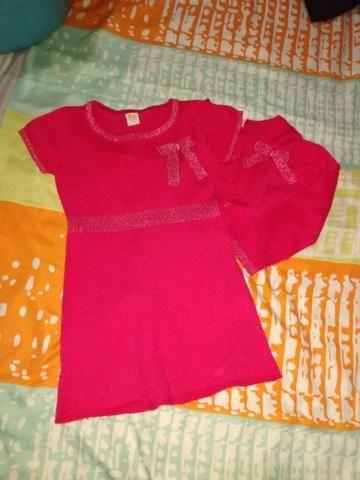 Lote vestidinho menina 2 a 3 anos entrego - Foto 4