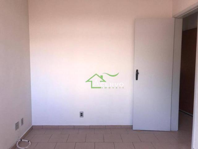 Apartamento com 2 dormitórios para alugar, 78 m² por r$ 850/mês - cascatinha - juiz de for - Foto 7