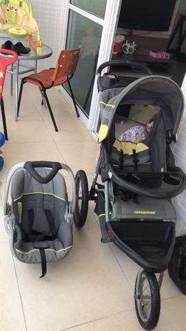Carrinho de bebê + bebê conforto - Foto 2