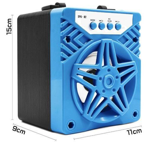 Caixa de Som 1 Alto-falantes Bluetooth Portatil Android celular - Foto 5