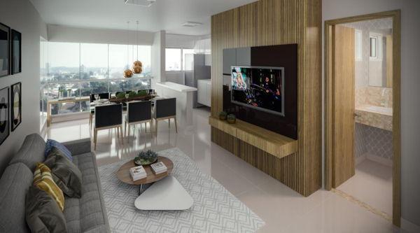 Apartamento  com 2 quartos no Residencial Brava Bueno - Bairro Setor Bueno em Goiânia - Foto 5