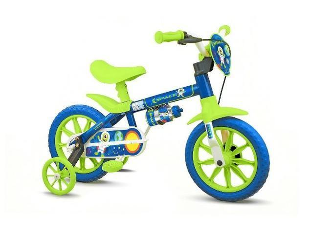 Bicicleta aro 12 fem e masc Nathor - Foto 4