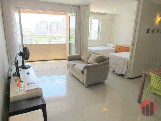 Apartamento todo mobiliado com 2 dormitórios para alugar, 57 m² por R$ 2.000/mês - Cidade  - Foto 14