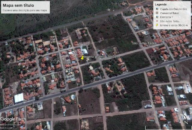 Terreno de esquina no melhor do São Judas Tadeu - 30x38m - totalizando 1140m²