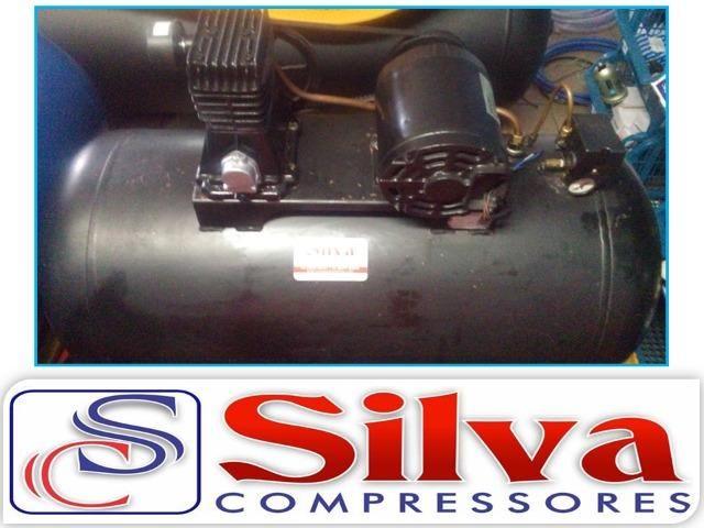 f7d10c067a8 Compressor de ar MSL 10 ML - Schulz (Usado) - Trifasico - Outros ...