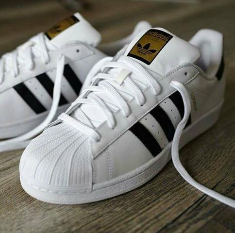 41dfee86e5 Tênis Adidas Superstar TENHO MAIS MODELOS - Roupas e calçados - Vila ...