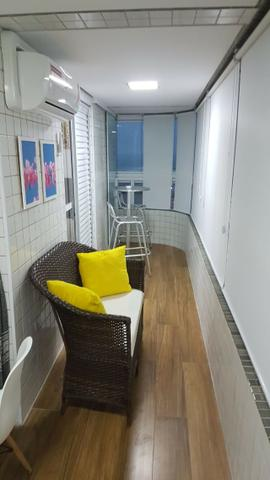 (Thamir) Apartamento 2 dormitórios 150 metros da praia, no bairro da Guilhermina - Foto 2