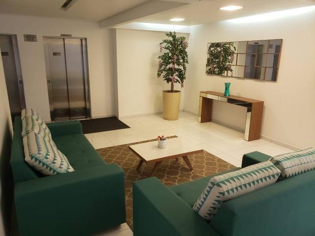 (Thamir) Apartamento 2 dormitórios 150 metros da praia, no bairro da Guilhermina - Foto 17
