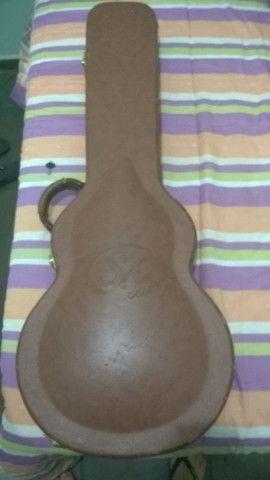 Guitarra Shelter Sx Les paul + case, em ótimo estado! - Foto 3