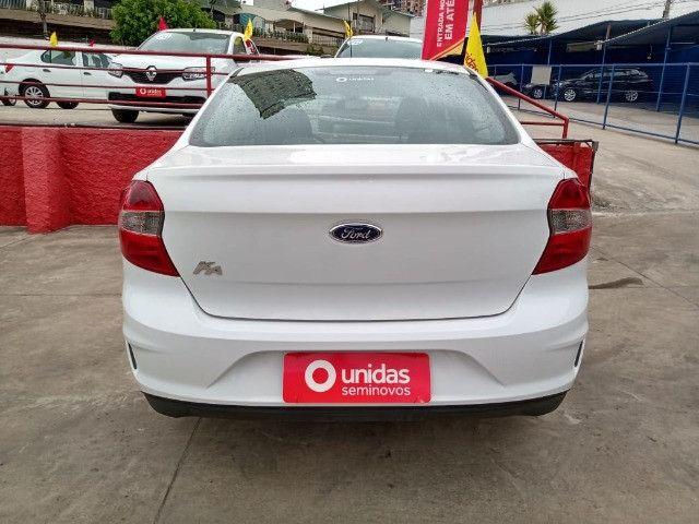 Ford ka + 1.0 2019 baixo km e com multimidea doc+transferencia gratis - Foto 5