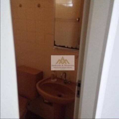 Apartamento com 1 dormitório para alugar, 69 m² por R$ 750,00/mês - Centro - Ribeirão Pret - Foto 17