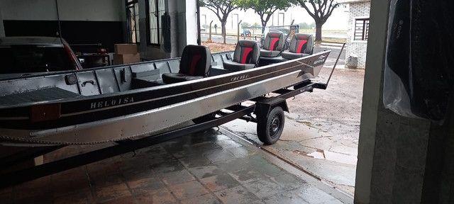 Barcos de Alumínio a pronta entrega - Aracatuba SP - Foto 2