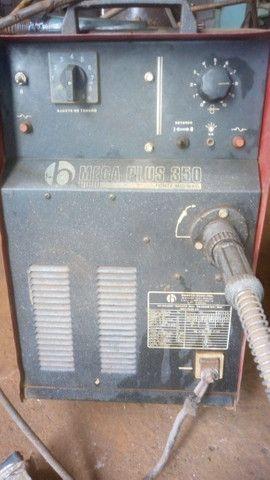 Máquina de solda MIG + Cilindro incluso - Foto 5