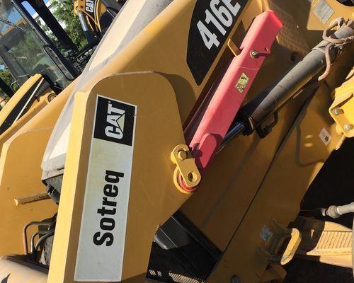 416E Caterpillar - 08/08 com entrada: 9.00 - Foto 2