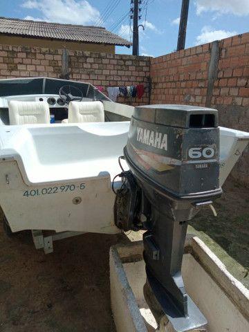 Barco com motor 60 - Foto 4