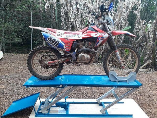Elevador para motos 350 kg fábrica 24horas zap