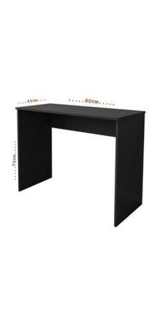 Mesa/ escrivaninha Preta - Foto 3