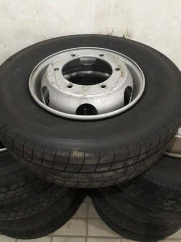Rodas original para caminhão 3/4 215/75 R17,5 e 235/75 R17,5  Accelo 1016, VW/  Mercedes - Foto 6