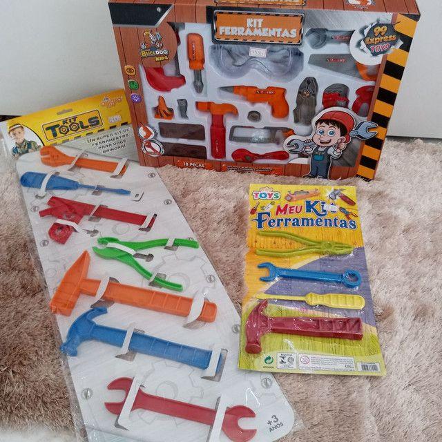 Brinquedo kit de ferramenta
