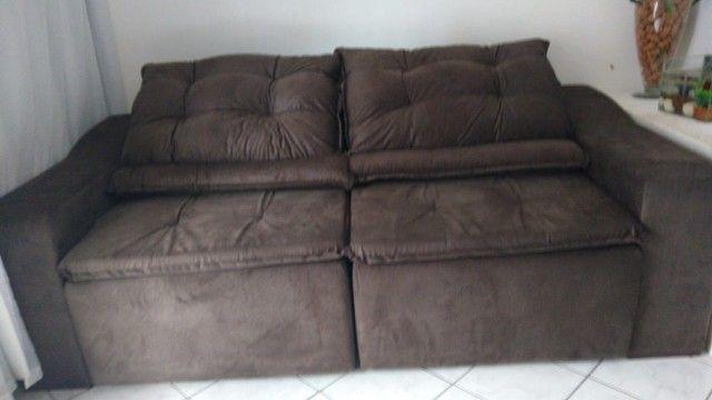 Imperdivel !! sofa 230 de largura - 180 de abertura - frete gratis