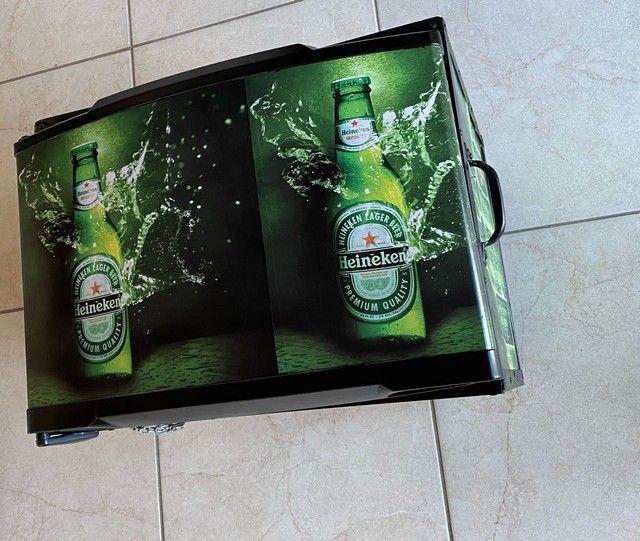 Cooler caixa térmica frigobar  - Foto 4