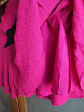Saia Bo.Bô rosa pink Tam M com etiqueta - Foto 3